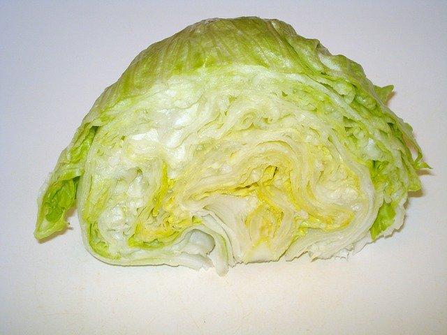 ledový salát půlka