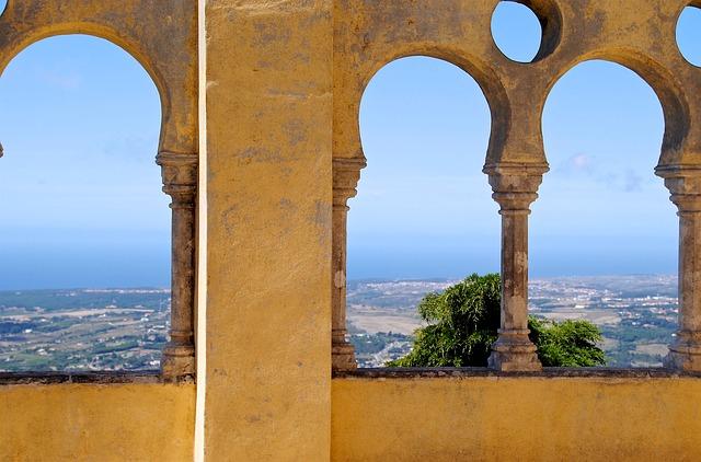 zámek v Portugalsku