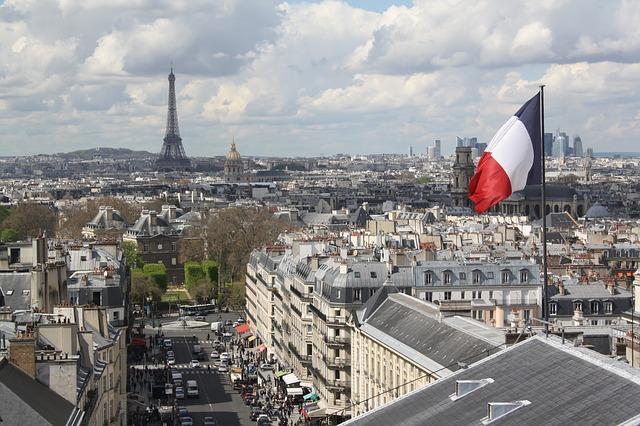 výhled na Paříž