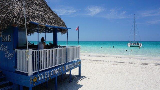 moře na Kubě