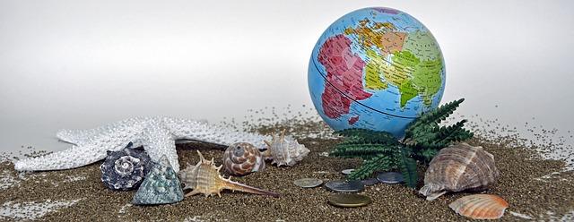 globus a mušle
