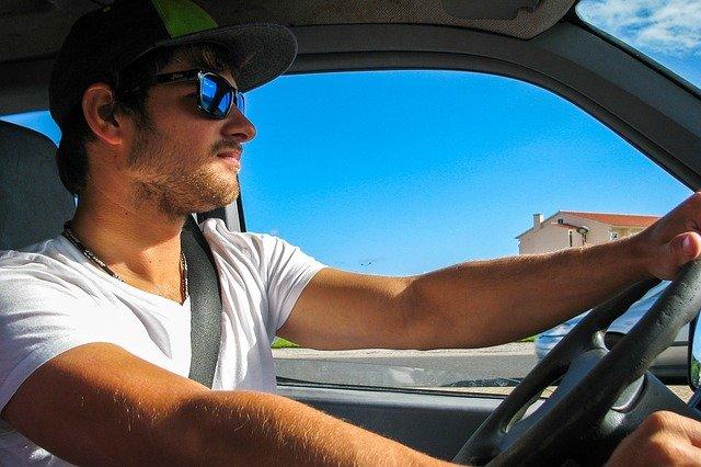 muž řidič