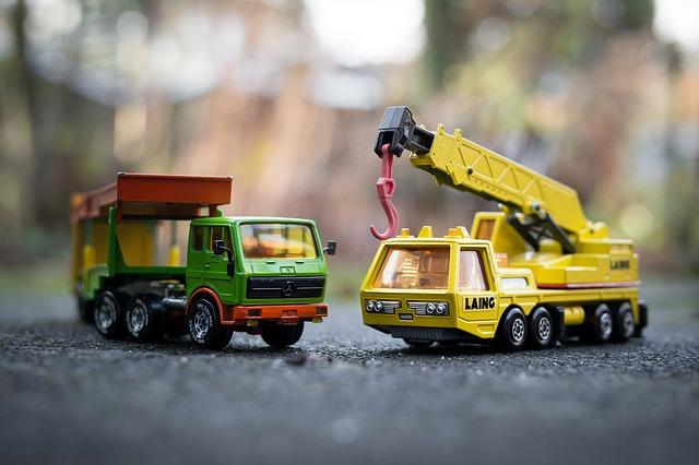 hračky autíčka