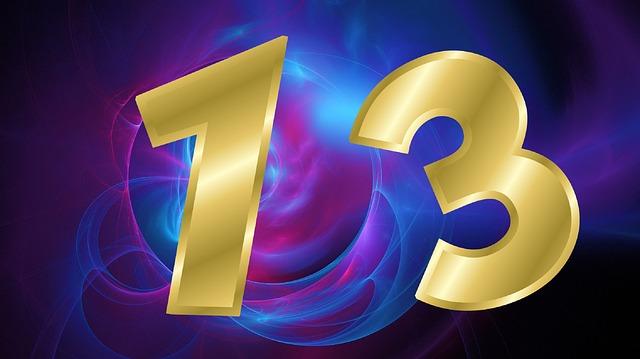 číslo třináct