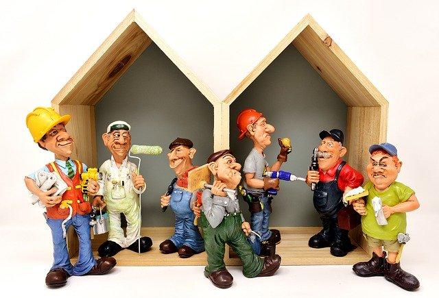Skupina řemeslníků