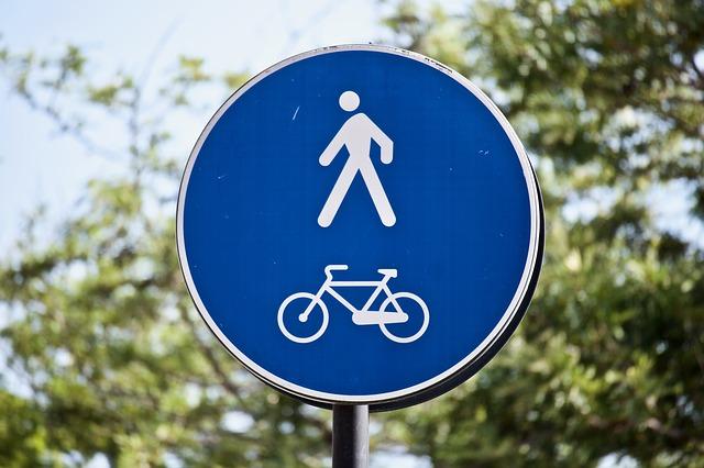 značka cyklostezky